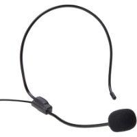 Micrófono diadema. También conocido como micrófonos de banda. Utilizado para grabar con las manos libres. Micrófono diadema barato.