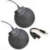Micrófono crown. Excelente calidad. Color negro.