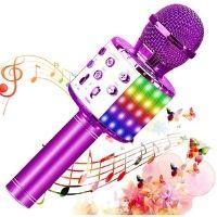 Micrófono bluetooth para niños. Color rosa. Buena relación calidad-precio