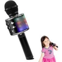 Micrófono bluetooth para niños. Color negro. Buena relación calidad-precio