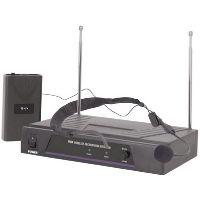 Micrófono diadema. También conocido como micrófonos de banda. Utilizado para grabar con las manos libres.