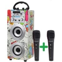 Altavoz con micrófono para conferencias y seminarios. Excelente calidad de sonido.