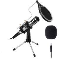 Micrófono de estudio profesional de la marca eivotor.