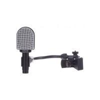 microfono de estudio de colores gris y negro
