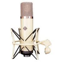 microfono de valvulas de color claro