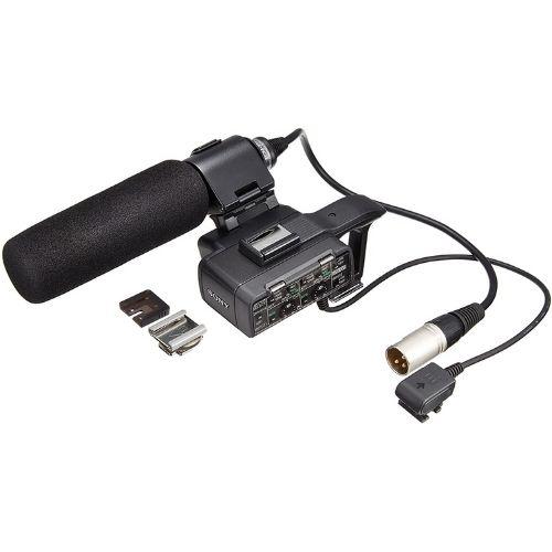 Micrófonos para cámaras Sony. Excelente calidad. Accesorio para grabar vídeo. Color negro.