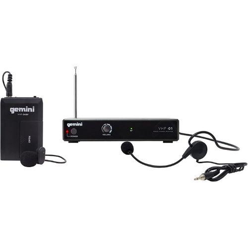 Micrófono de diadema gemini. Micrófono diadema. También conocido como micrófonos de banda. Utilizado para grabar con las manos libres. Micrófono diadema barato.