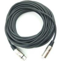 Cable para micrófonos. Cable de buena calidad para conseguir un micrófono profesional. Cable de gama alta.