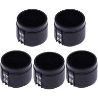 5 capsulas para microfonos de color negro